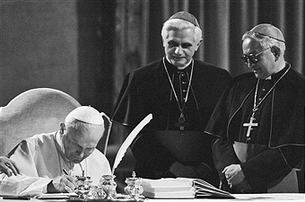 Three Popes. One Message.