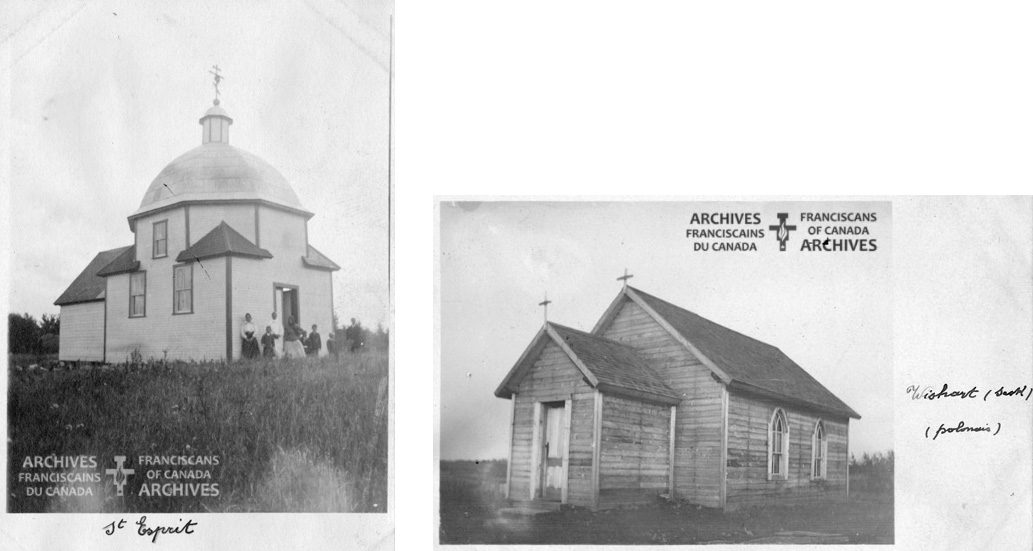Church in Hubbard and Wishart.