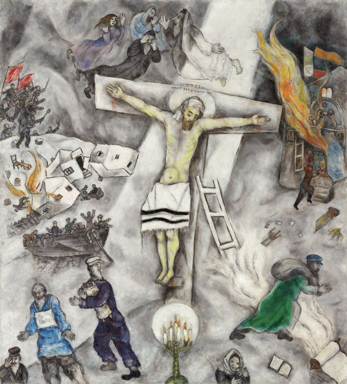 Marc Chagall: The White Crucifixion
