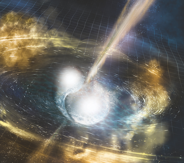 Is and Ought, Being and Meaning, or Why Do Neutron Stars Collide?