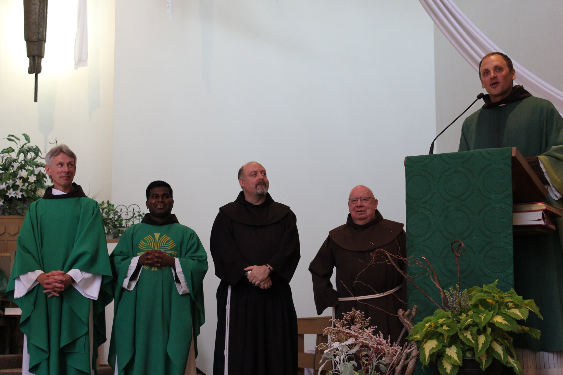 Installation and Welcoming Mass and Celebration at St. Joseph the Worker Parish, Richmond, BC