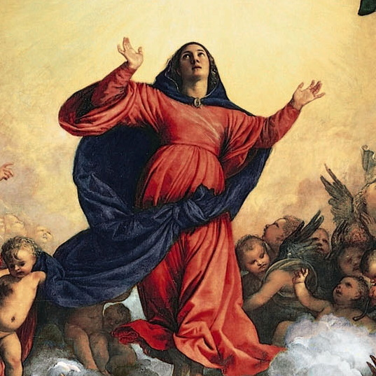 The Glorious Queen of the Heaven and Earth: The Assumption of the Virgin by Titian