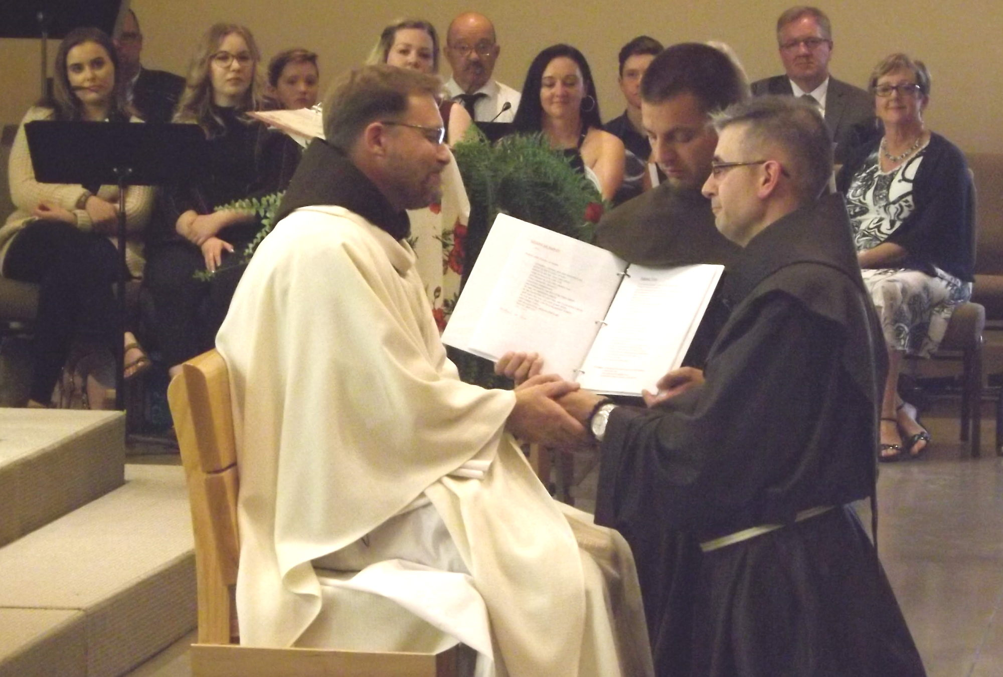 Solemn Vows by Brother Michael Perras