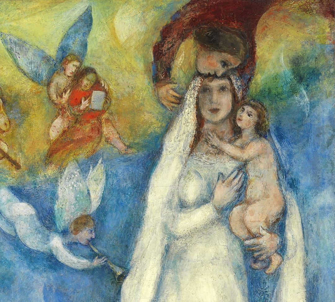 Marc Chagall: The Madonna of the Village 1938-1942