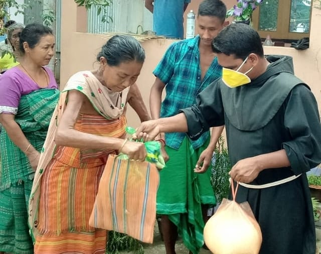 Franciscan Solidarity at Its Best During the Pandemic in India